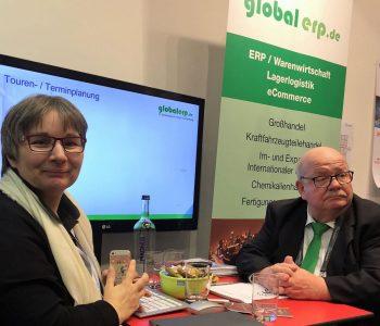 globalerp auf der Messe IT for Business 2020 Lübeck
