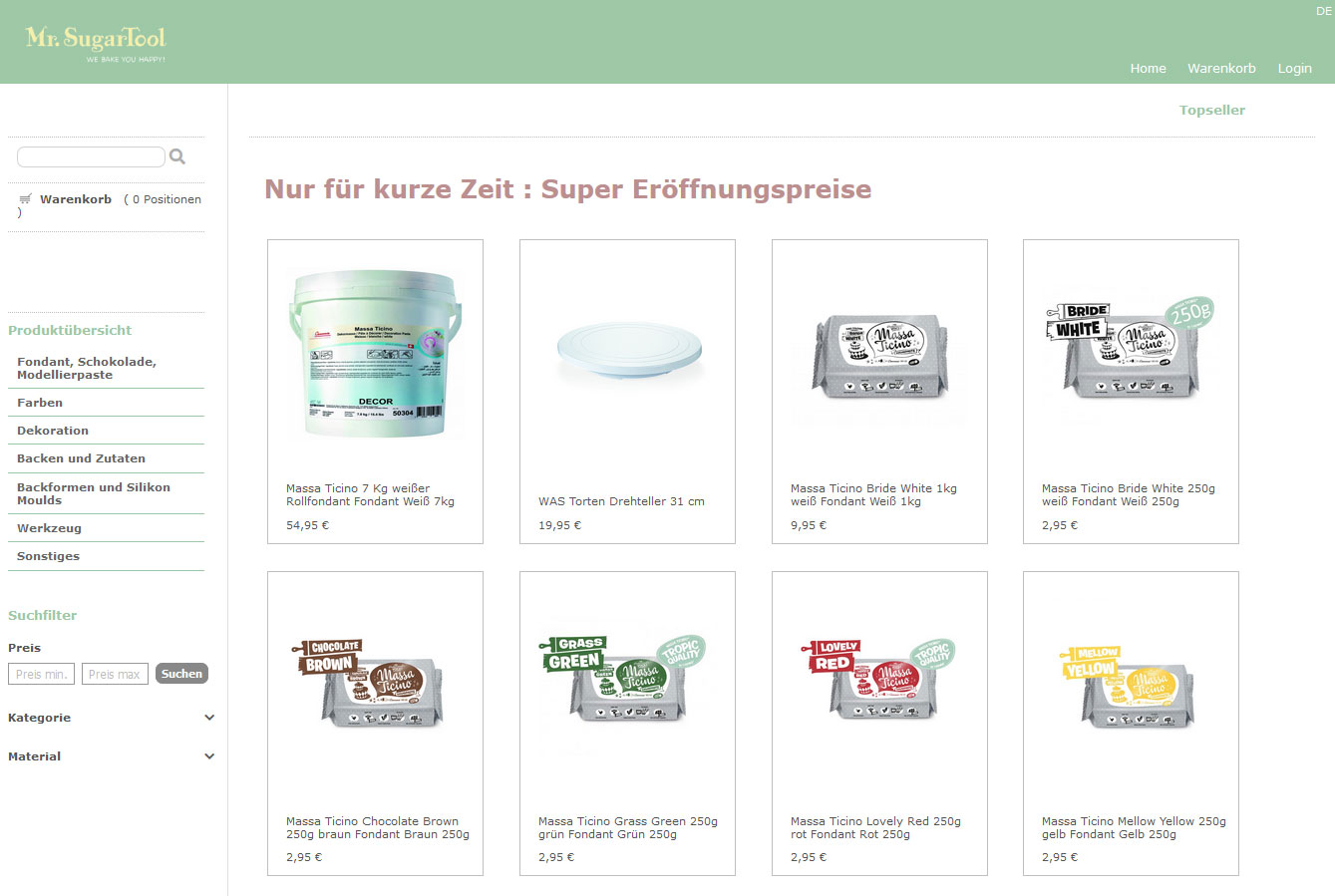 Mr.Sugartool Webshop