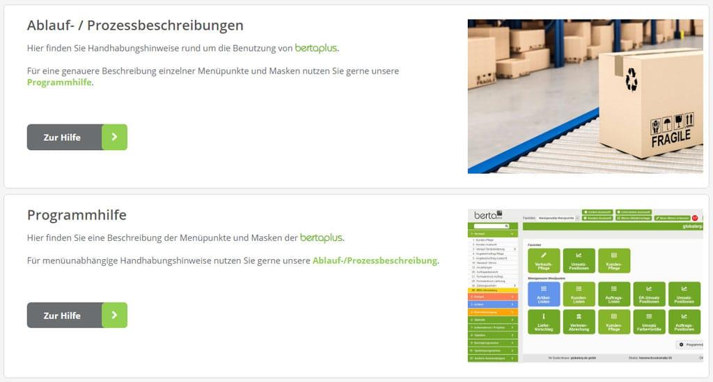 Unser Online-Handbuch