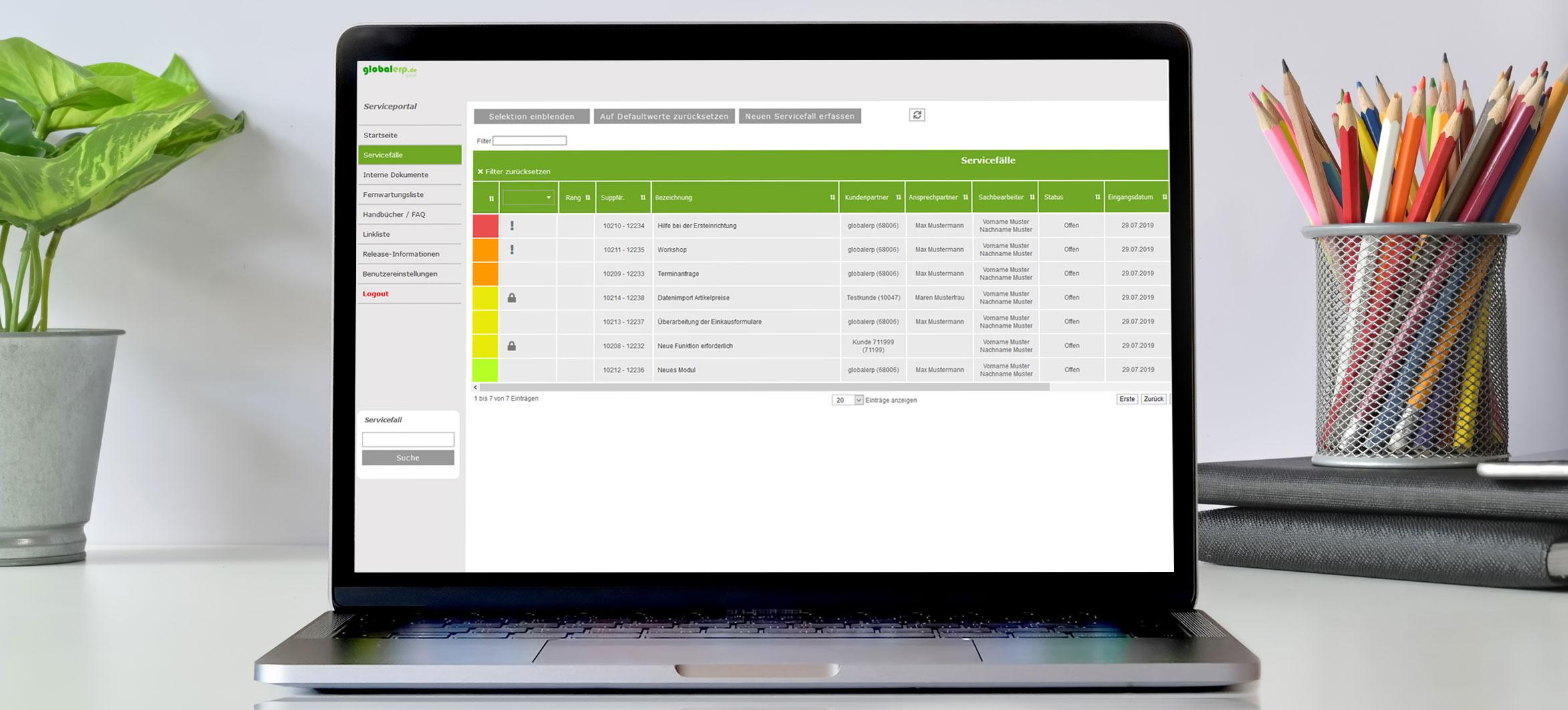bertaplus Service Portal